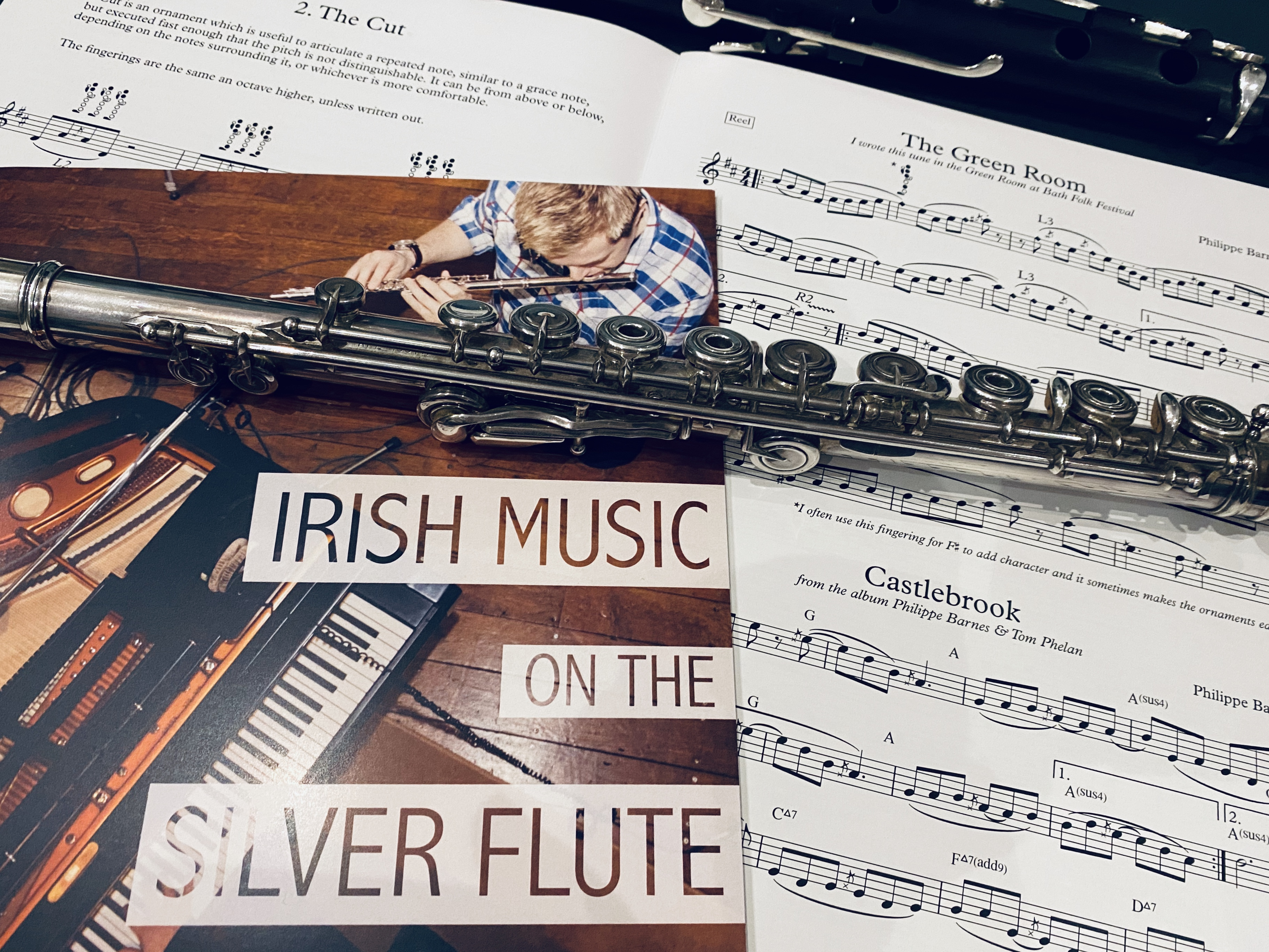Irish Music Silver Flute